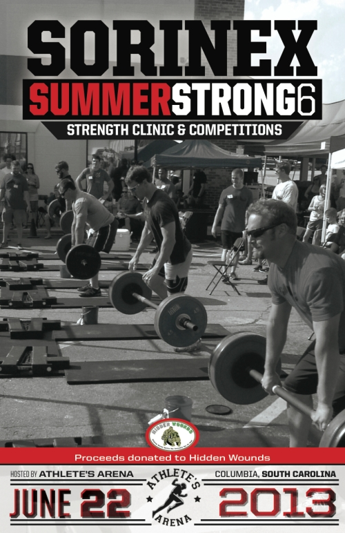 Summer Strong 6 Official Invitaion